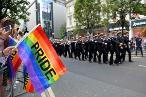 Armed Forces March in London Pride 270615